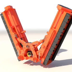 foldable stalk shredder aquila 300x300 - TIERRE Aquila Heavy Duty Mulcher