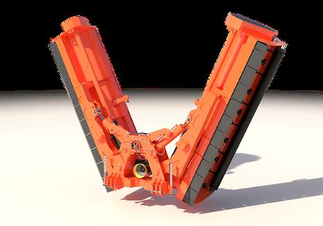 foldable stalk shredder aquila - TIERRE Aquila Heavy Duty Mulcher
