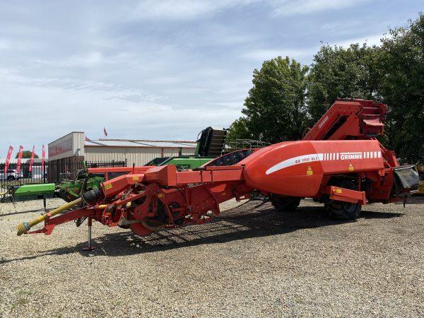 IMG 0087 600x450 - GRIMME GZ 2 Row Trailing Potato Harvester