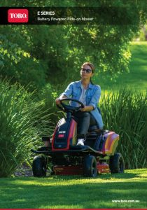 A91fpmm78 1qrpbbc fd8 210x300 - TORO introduce the E Series Battery Powered Ride-On Mower